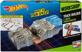 Hot Wheels BGX84 Track Builder 2-speed Power Booster Accessory for sale  online | eBay