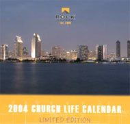 The Rock 2004 desktop calendars make great gifts