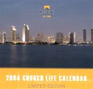 The Rock 2004 desktop calendars make great gifts