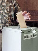 If you don't exercise your right to vote, how can your opinion be heard?