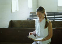 A mom who reads the Bible and prays regularly will strengthen her family