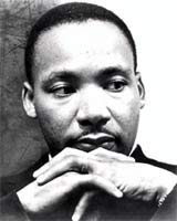 Monday, January 19 is Martin Luther King Jr Day